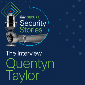 """Do not fire the CISO"", with Quentyn Taylor"