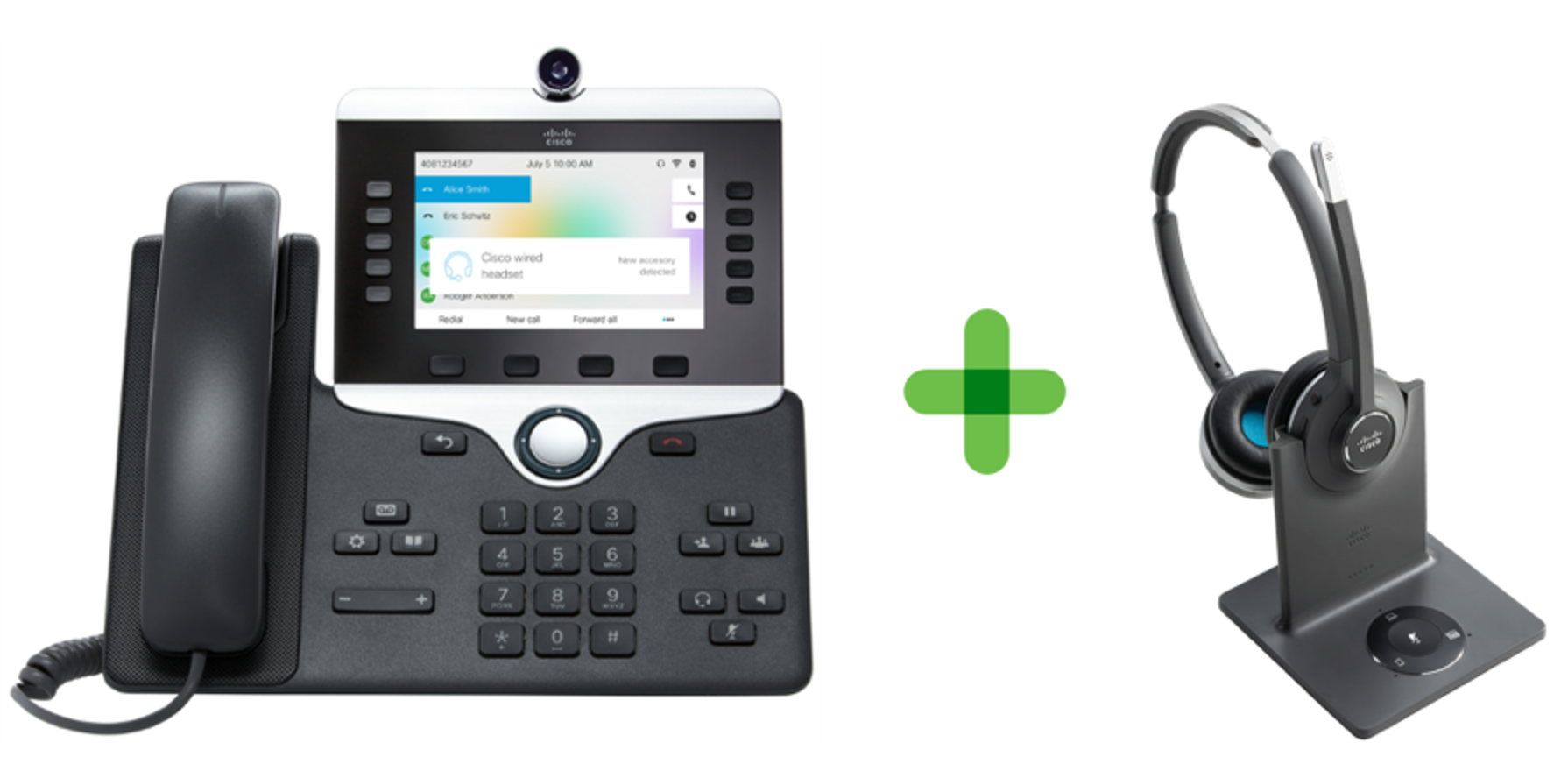 Go Touchless with Cisco Headsets and Extension Mobility