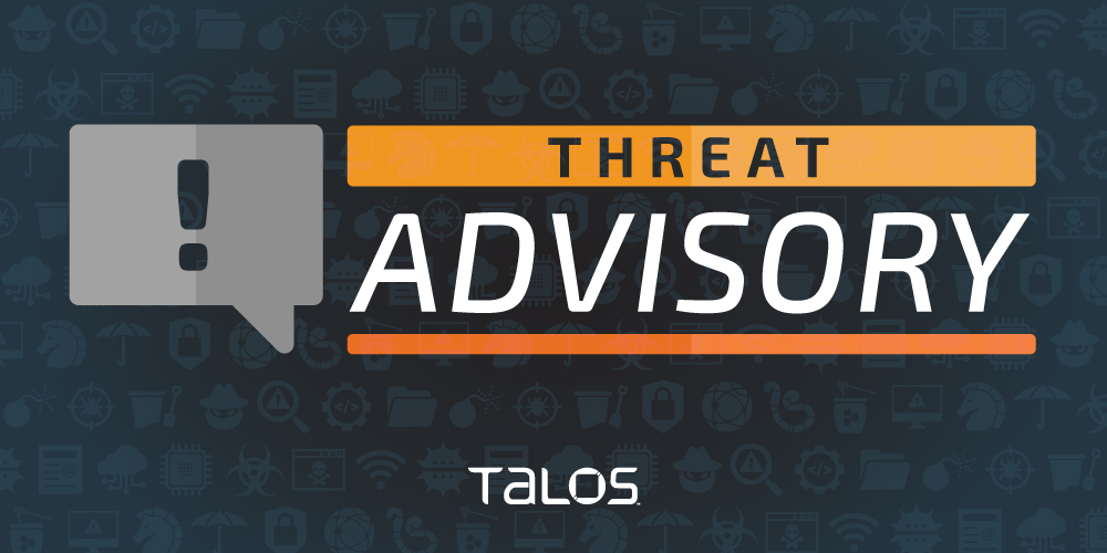 Cisco Talos Advisory on Adversaries Targeting the general public and Healthcare Health Industry