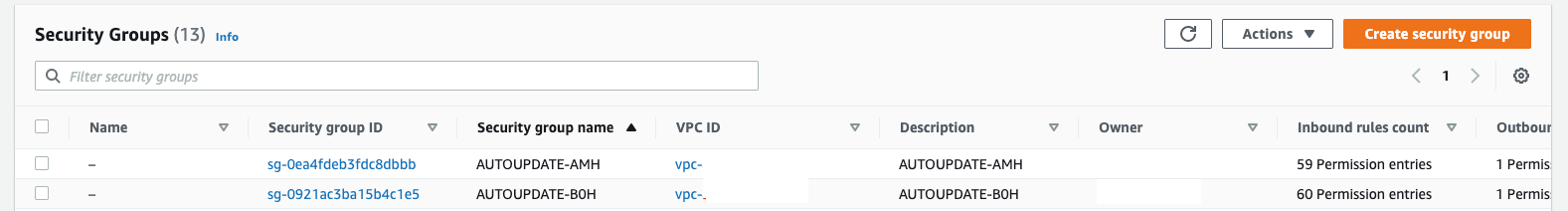 Immediately update security groups for Amazon CloudFront IP ranges using AWS Lambda