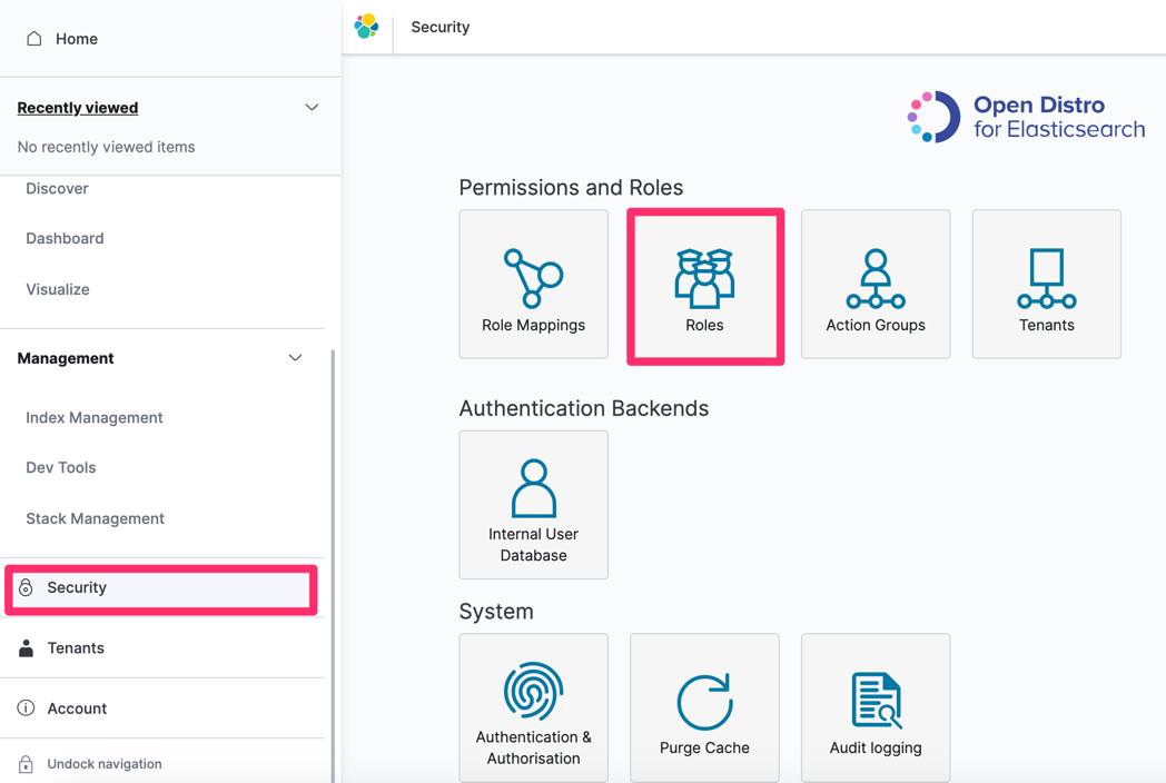 Masking subject values with Amazon Elasticsearch Service