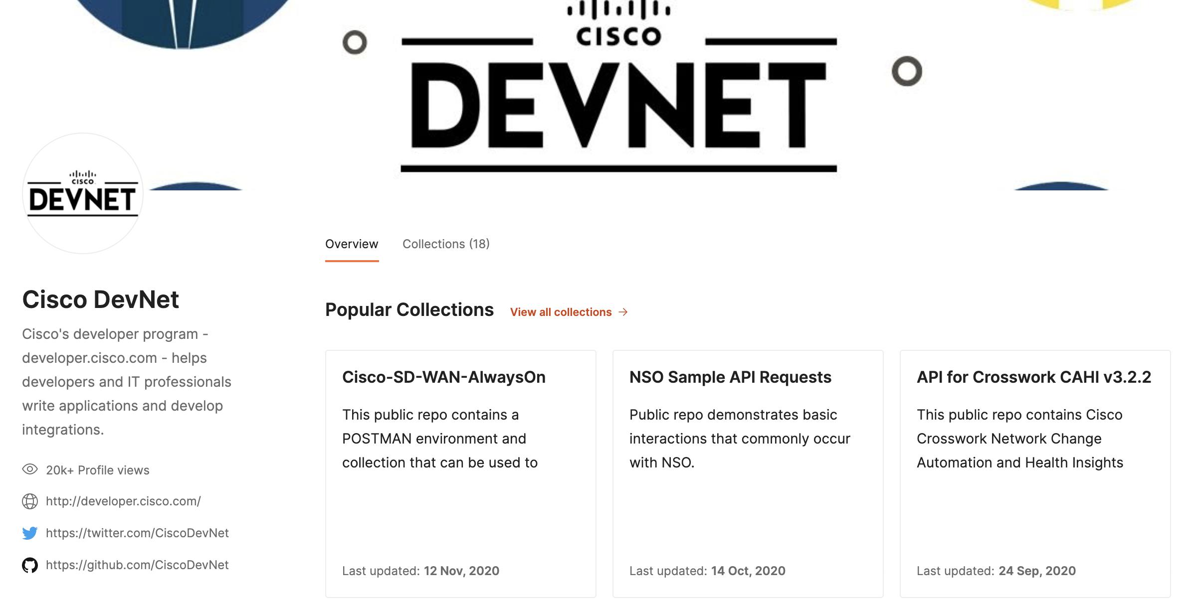 Cisco DevNet Operates Interactive Developer Schooling on Postman