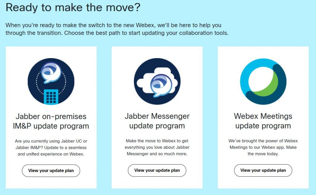 Your Journey to the All-New Webex