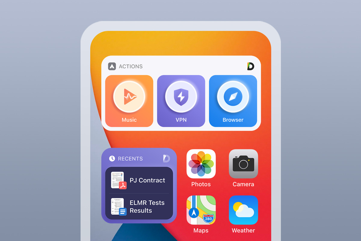 Documents, a good app for everything that's with you always