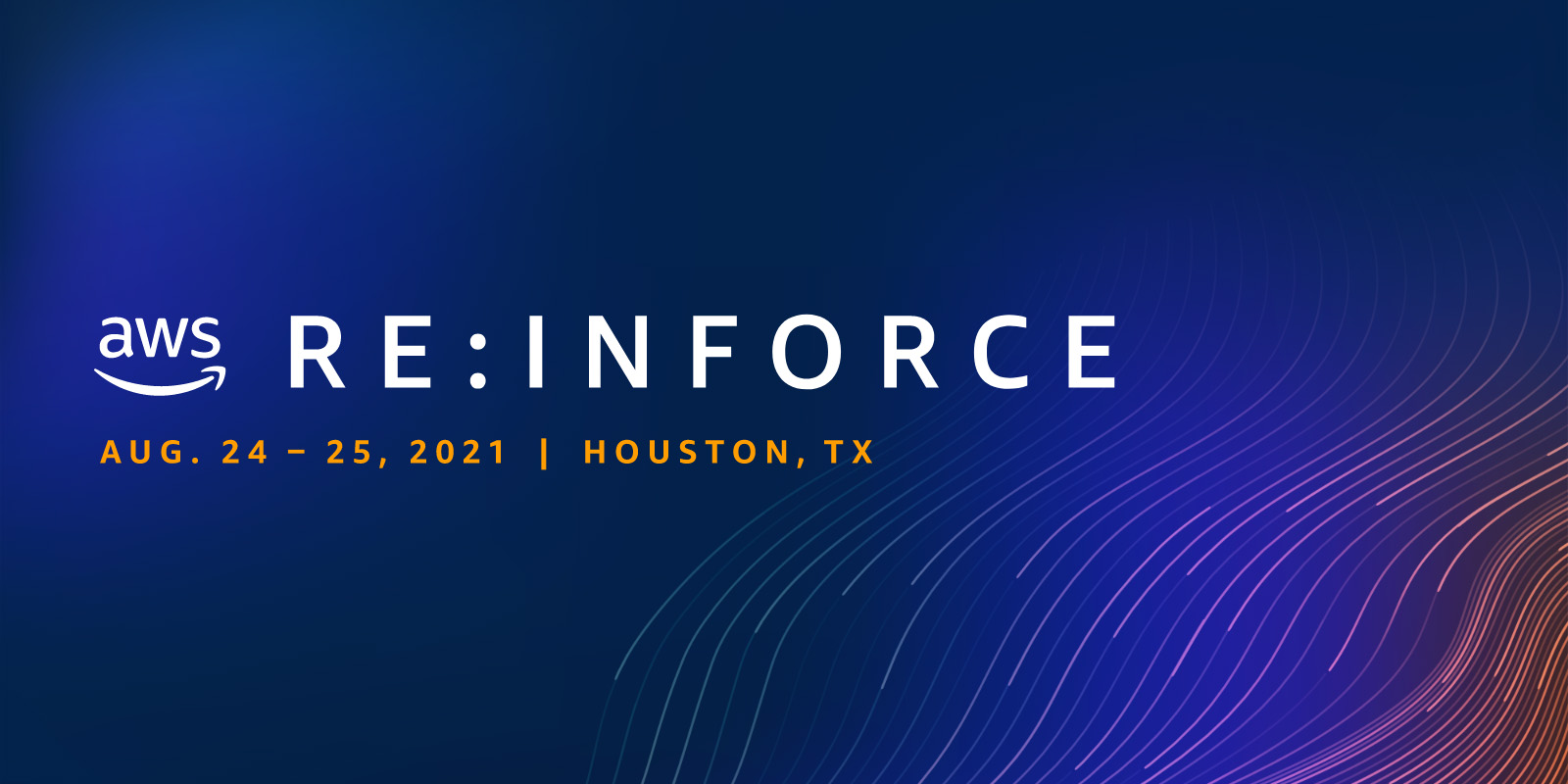 Join us personally for AWS re:Inforce 2021