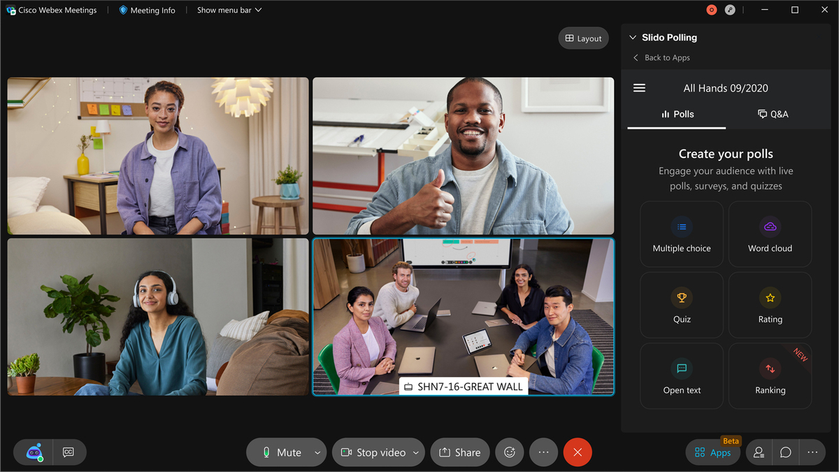 Does Webex Legislate indicate video-based collaboration's future?