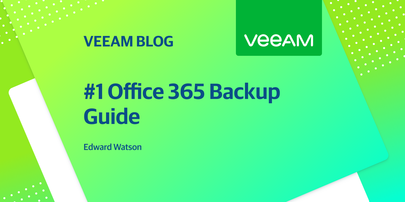 #1 Office 365 Back-up Guide