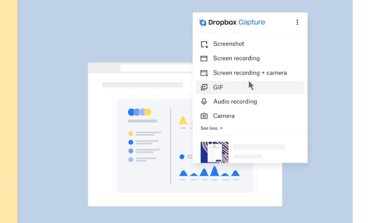 Dropbox's 'Capture' feature embraces async video