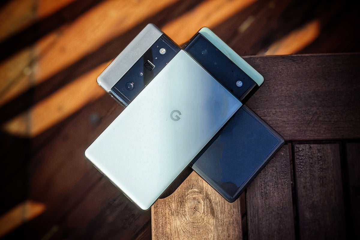 Both Pixel 6 numbers which could change everything